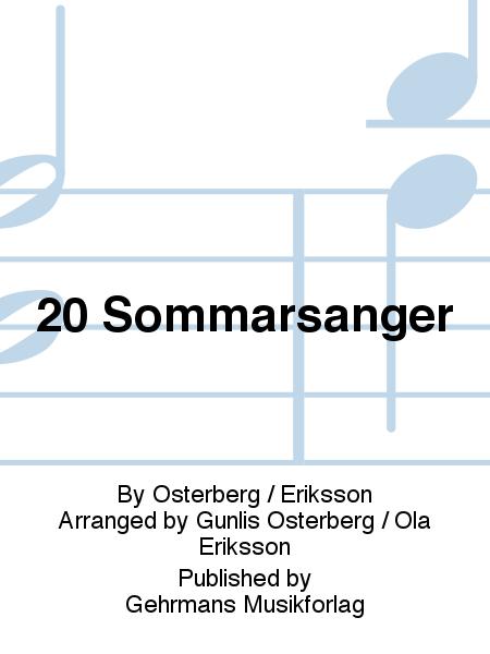 20 Sommarsanger