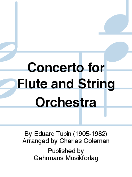 Concerto for Flute and String Orchestra