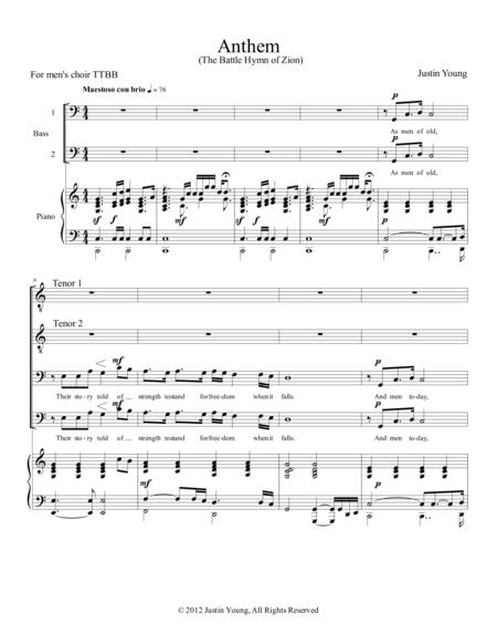 Anthem (The Battle Hymn of Zion)