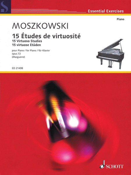 15 Virtuoso Studies, Op. 72