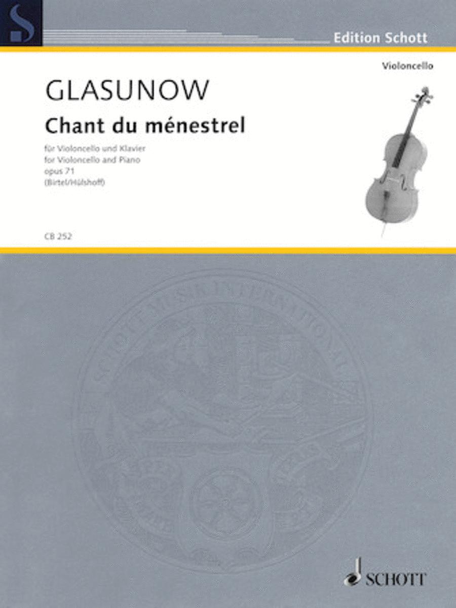 Alexander Glazunov - Chant du menestrel, Op. 71