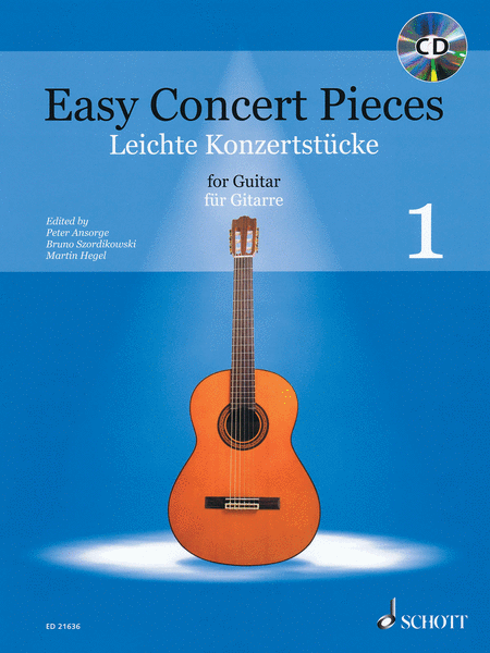 Easy Concert Pieces for Guitar - Volume 1