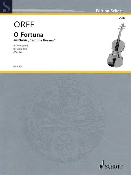 O Fortuna from Carmina Burana