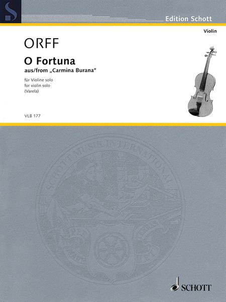 O Fortuna from Carmina Burana