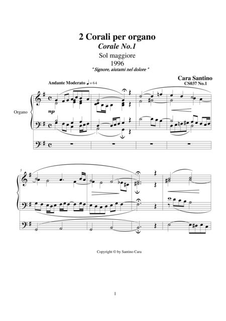 2 Chorales for organ