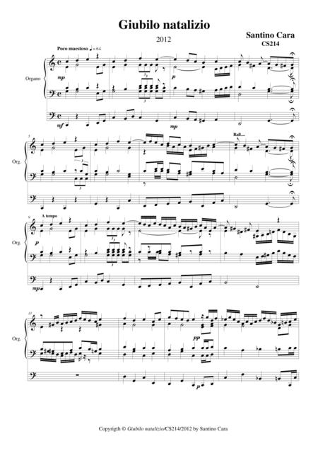 Christmas joy for organ