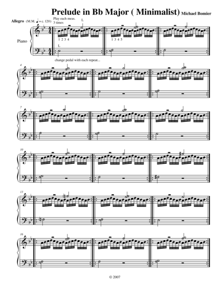 Prelude No. 21 in Bb Major from 24 Preludes