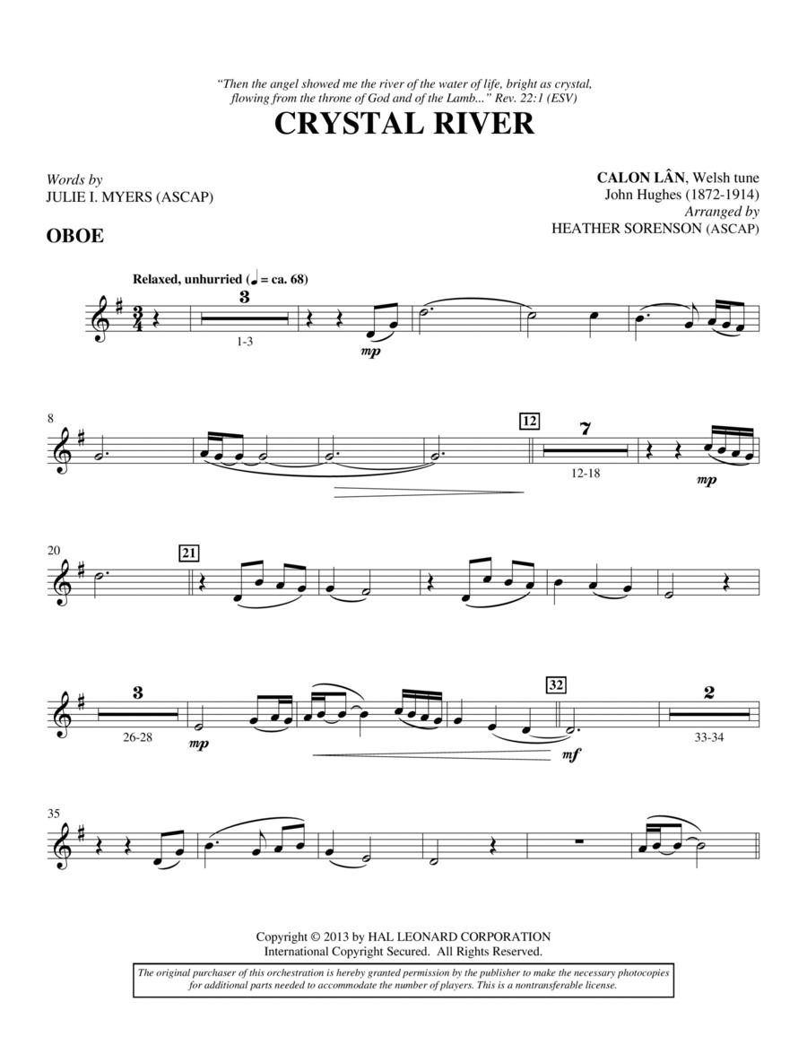 Crystal River - Oboe