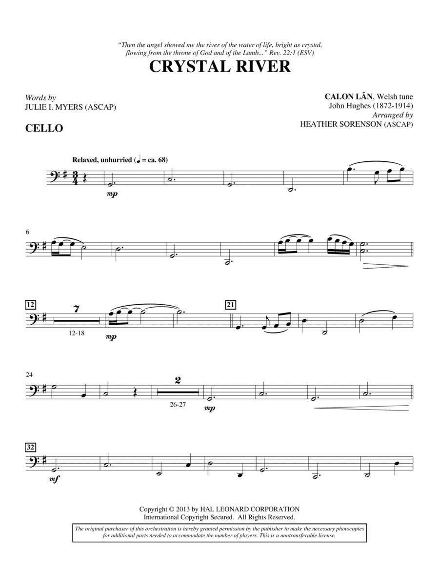 Crystal River - Cello