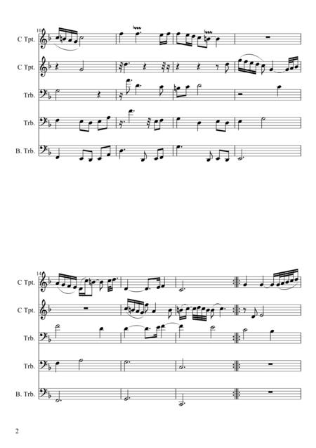 Goldberg Variations - Aria for Brass Quintet