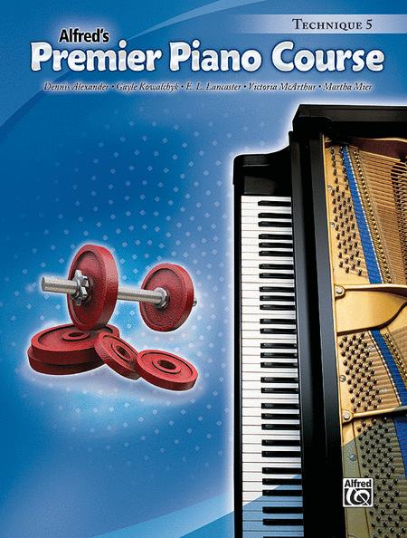 Premier Piano Course Technique, Book 5