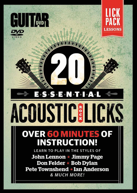 Guitar World -- 20 Essential Acoustic Rock Licks