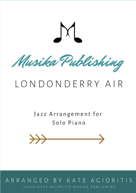 Londonderry Air (Danny Boy) - Jazz Arrangement for Solo Piano