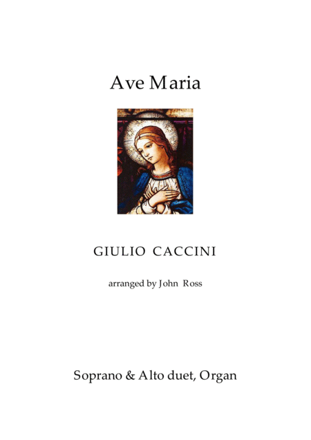 Ave Maria (Soprano + Alto duet, Organ)