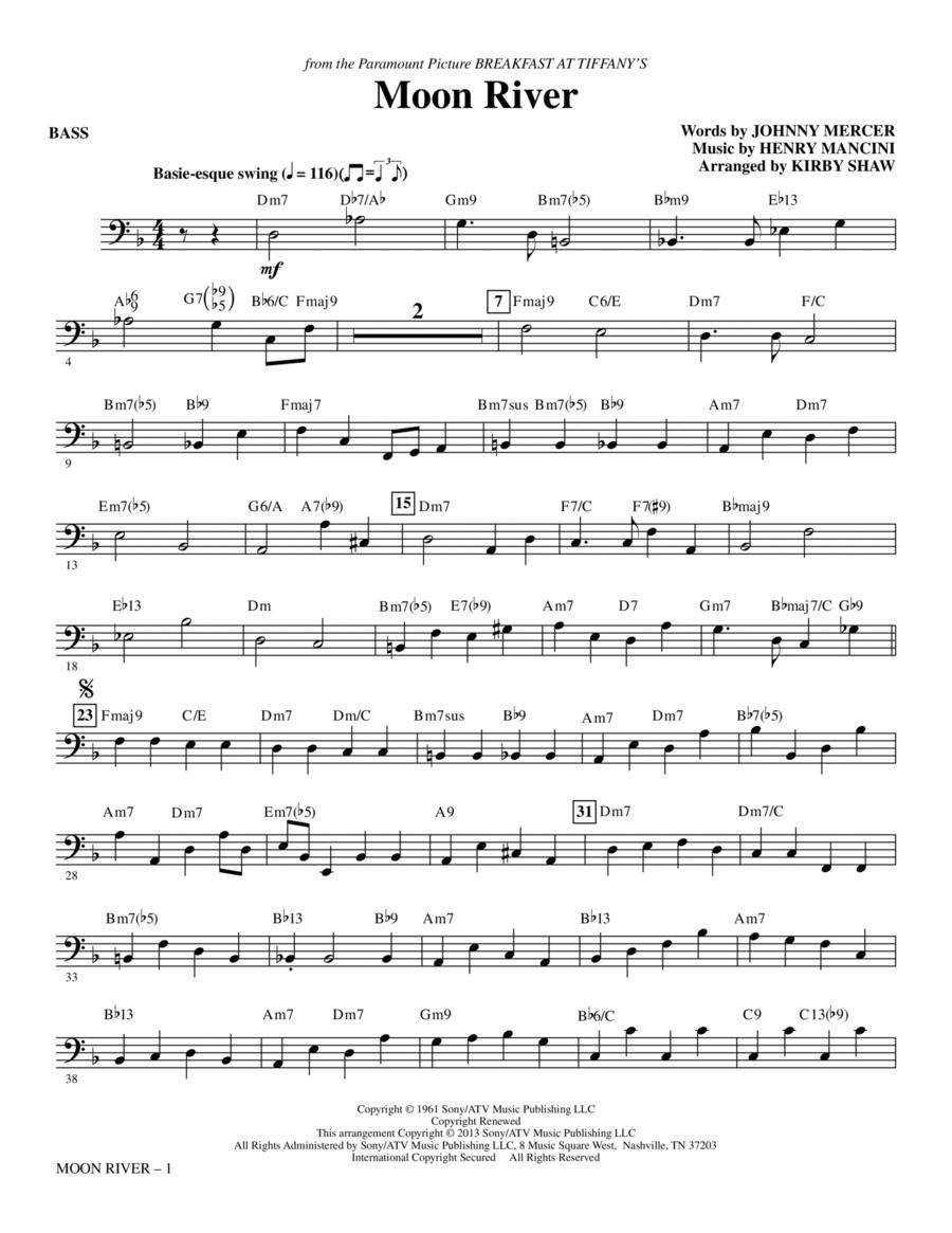 Moon River - Bass