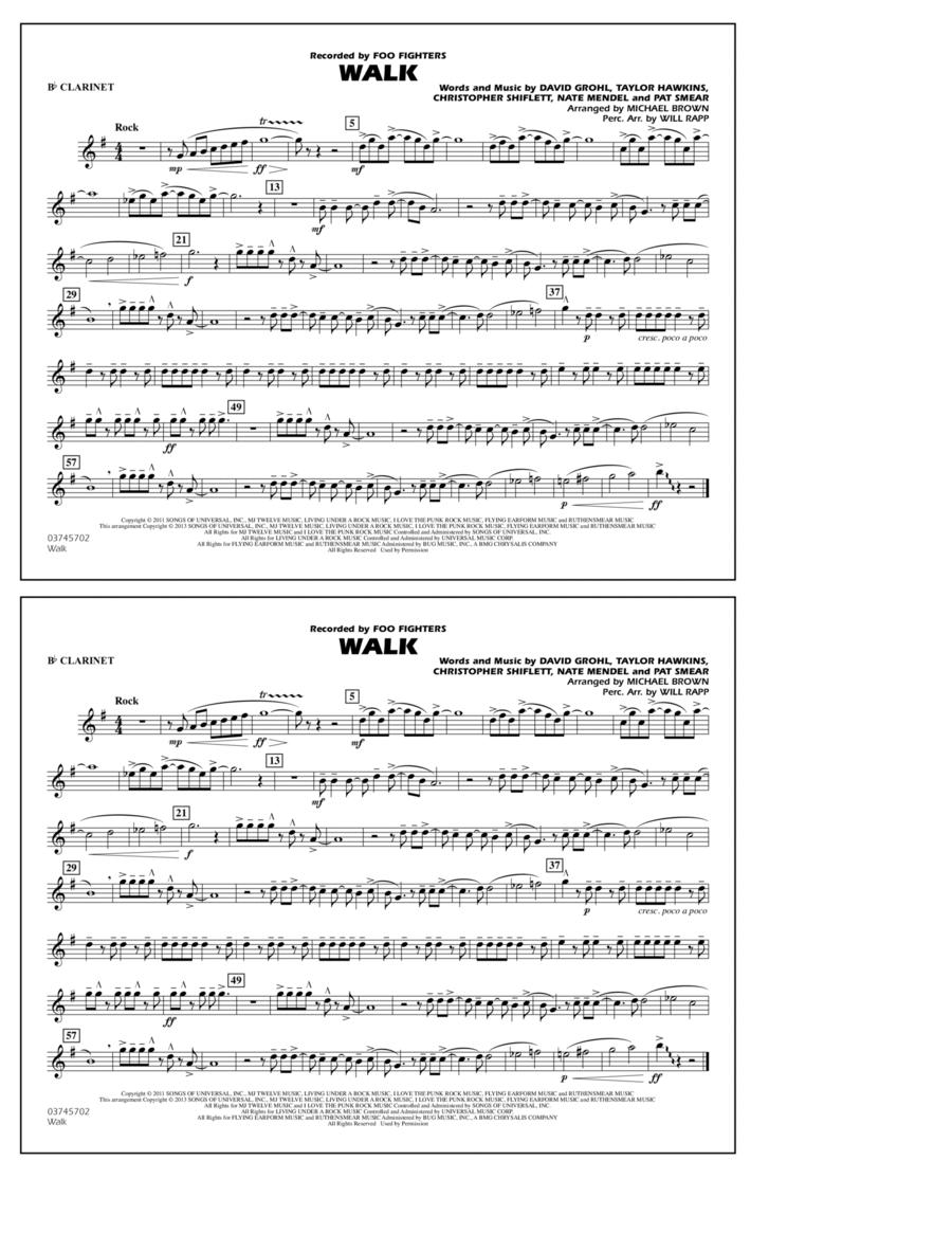 Walk - Bb Clarinet