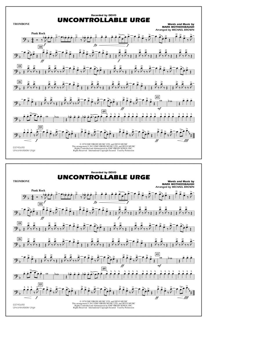 Uncontrollable Urge - Trombone