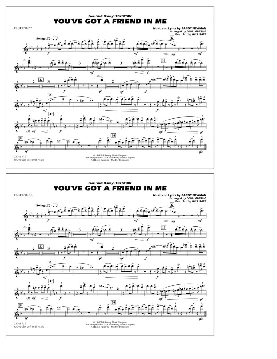 You've Got a Friend in Me - Flute/Piccolo
