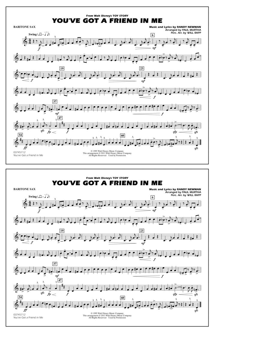 You've Got a Friend in Me - Eb Baritone Sax