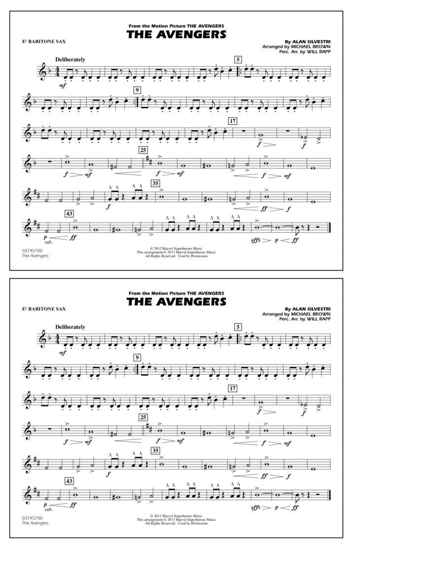The Avengers - Eb Baritone Sax