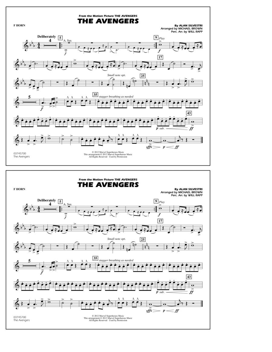 The Avengers - F Horn