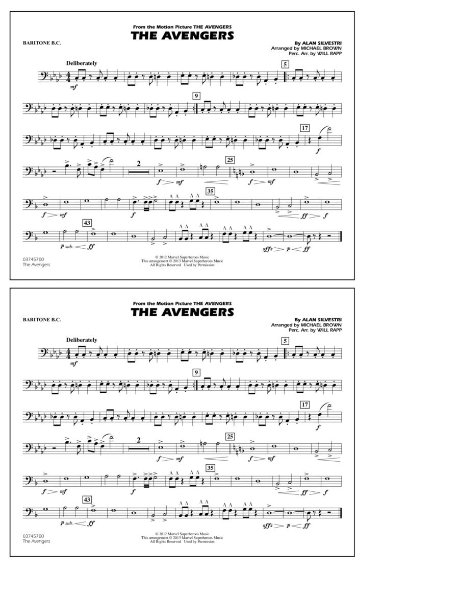 The Avengers - Baritone B.C.