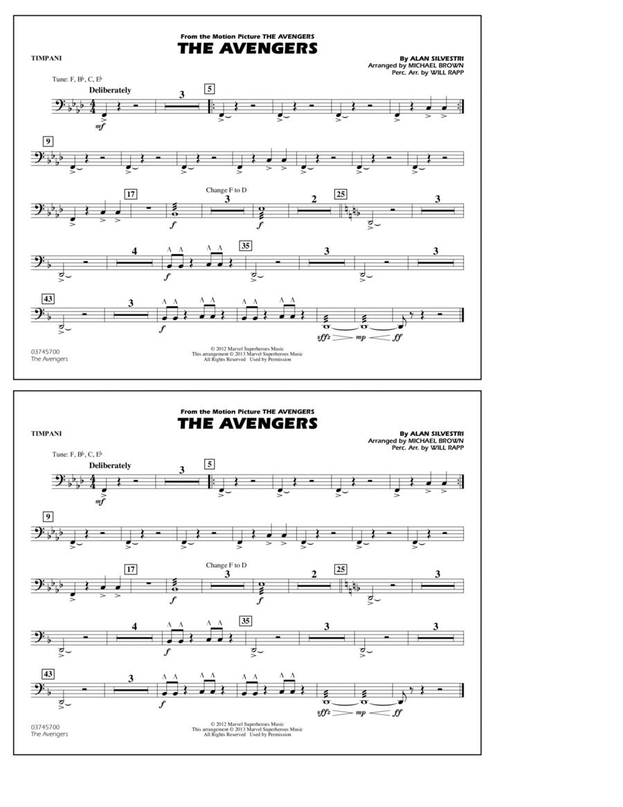 The Avengers - Timpani