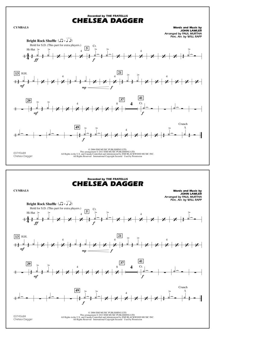 Chelsea Dagger - Cymbals