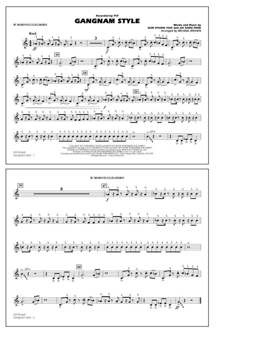 Gangnam Style - Bb Horn/Flugelhorn