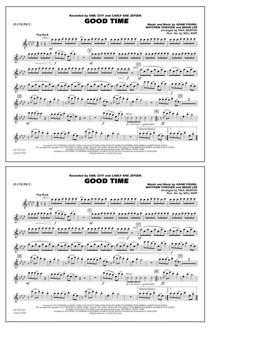 Good Time - Flute/Piccolo
