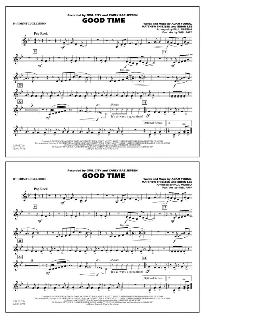 Good Time - Bb Horn/Flugelhorn