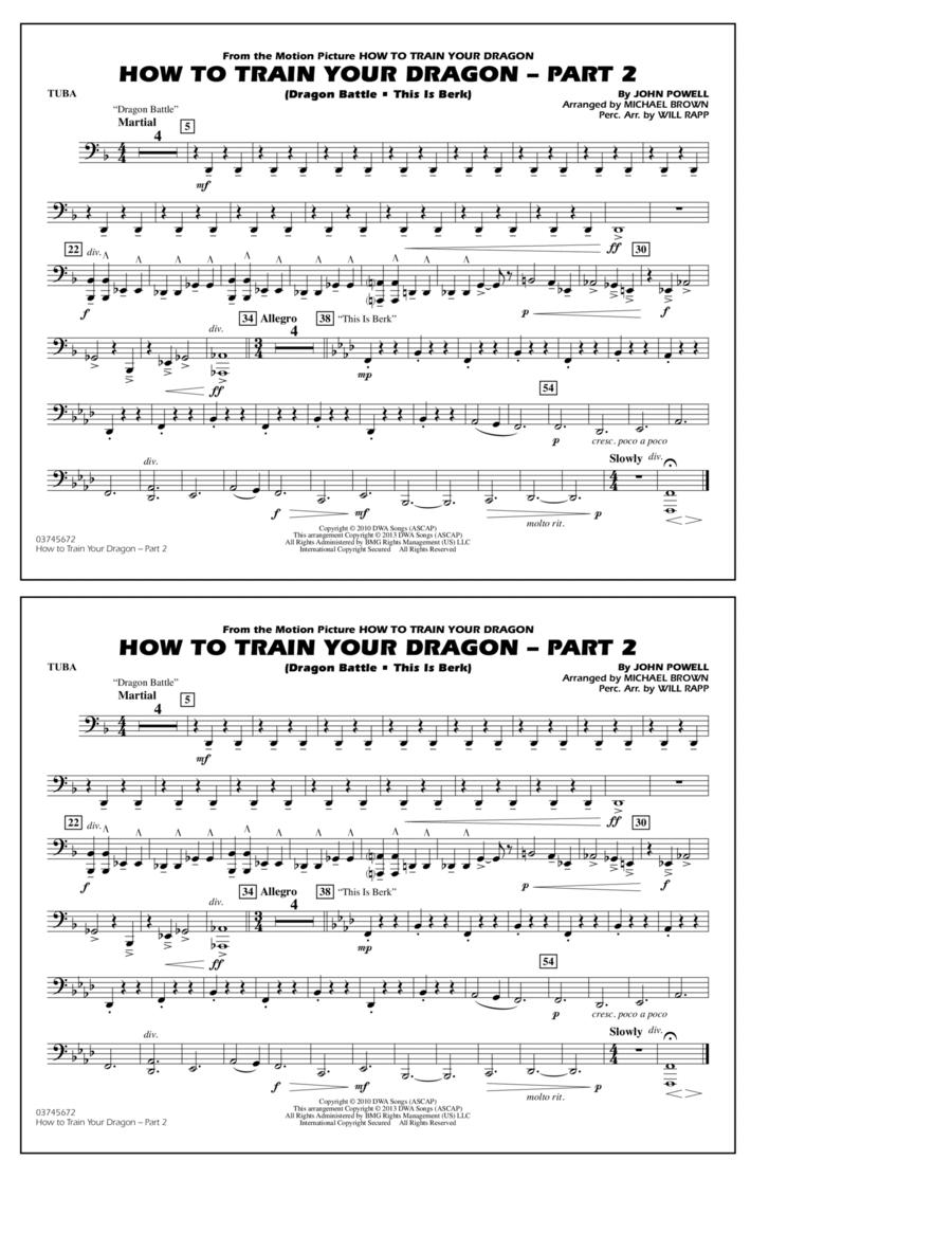 How To Train Your Dragon Part 2 - Tuba