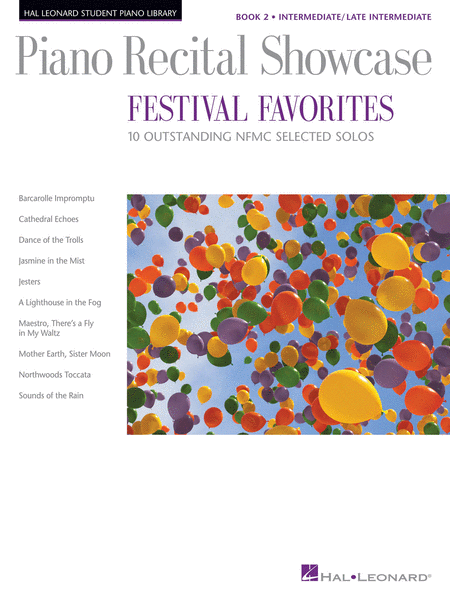 Piano Recital Showcase - Festival Favorites, Book 2