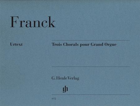 3 Chorals pour Grand Orgue