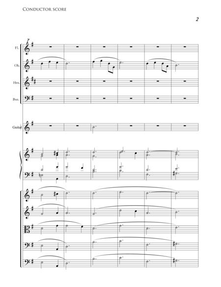Geen Wieg Voor Een Koning - Horn, Bassoon, Guitar, Piano (Accompaniment For Mixed Choir)