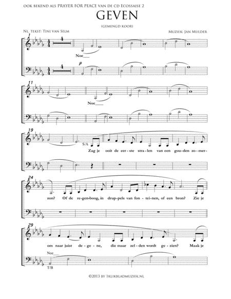 Geven - Mixed Choir