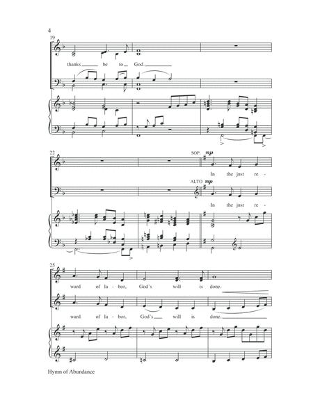 Hymn of Abundance