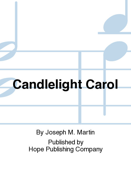 candlelight carol sheet music pdf