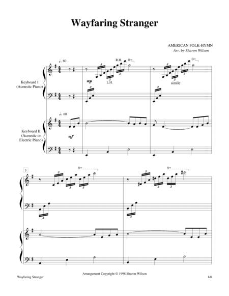 Wayfaring Stranger (2 Pianos, 4 Hands Duet)