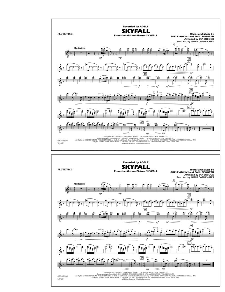 Skyfall - Flute/Piccolo