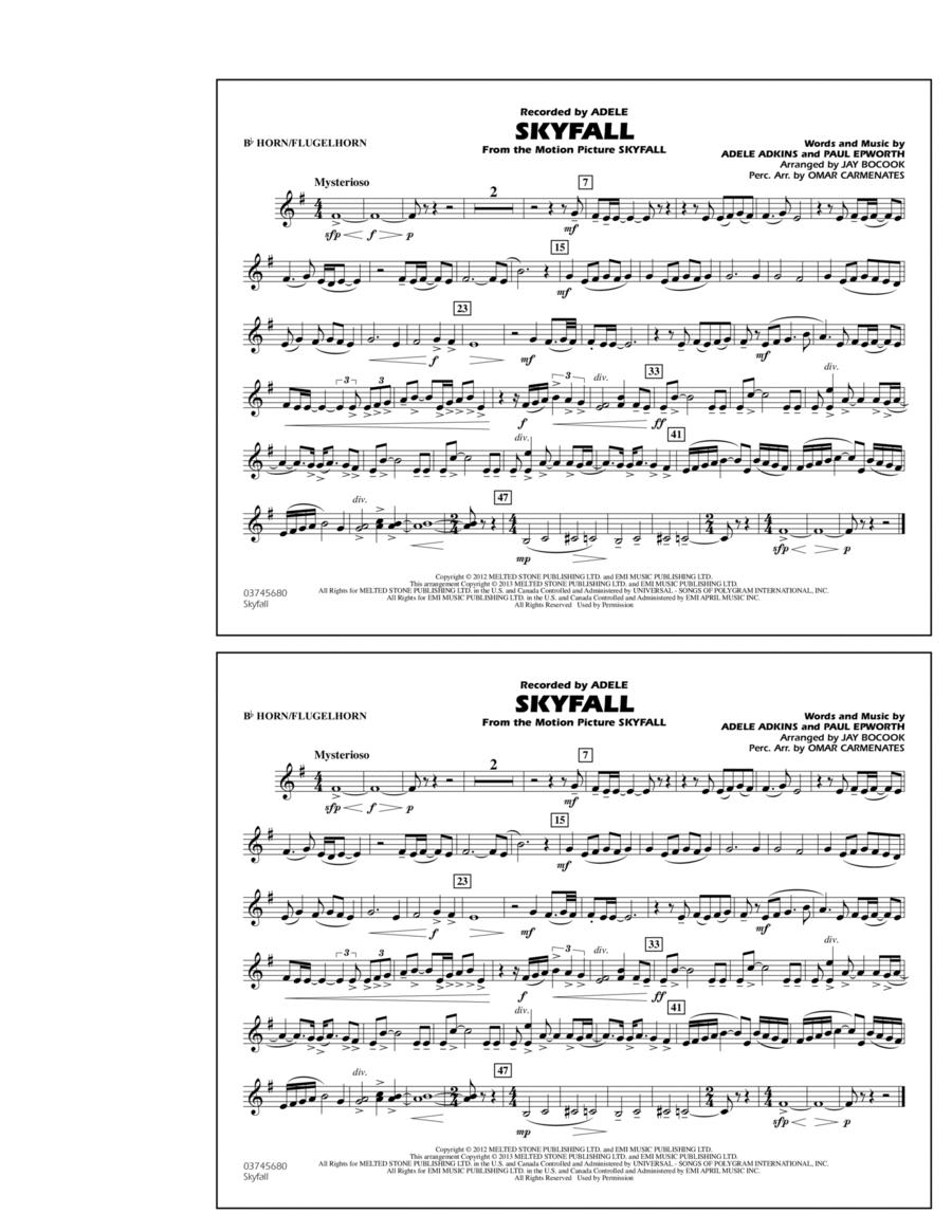 Skyfall - Bb Horn/Flugelhorn