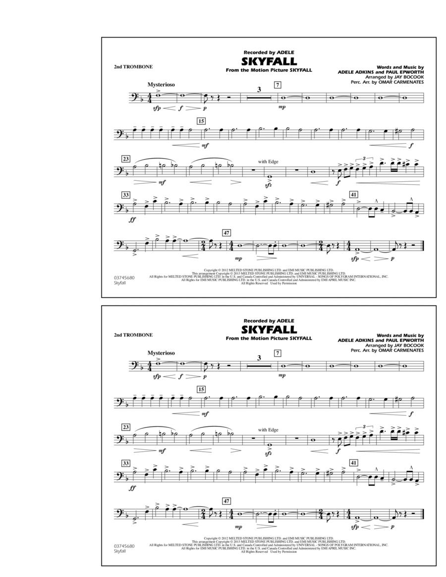 Skyfall - 2nd Trombone