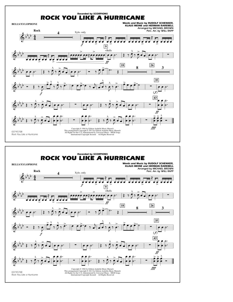 Rock You Like a Hurricane - Bells/Xylophone
