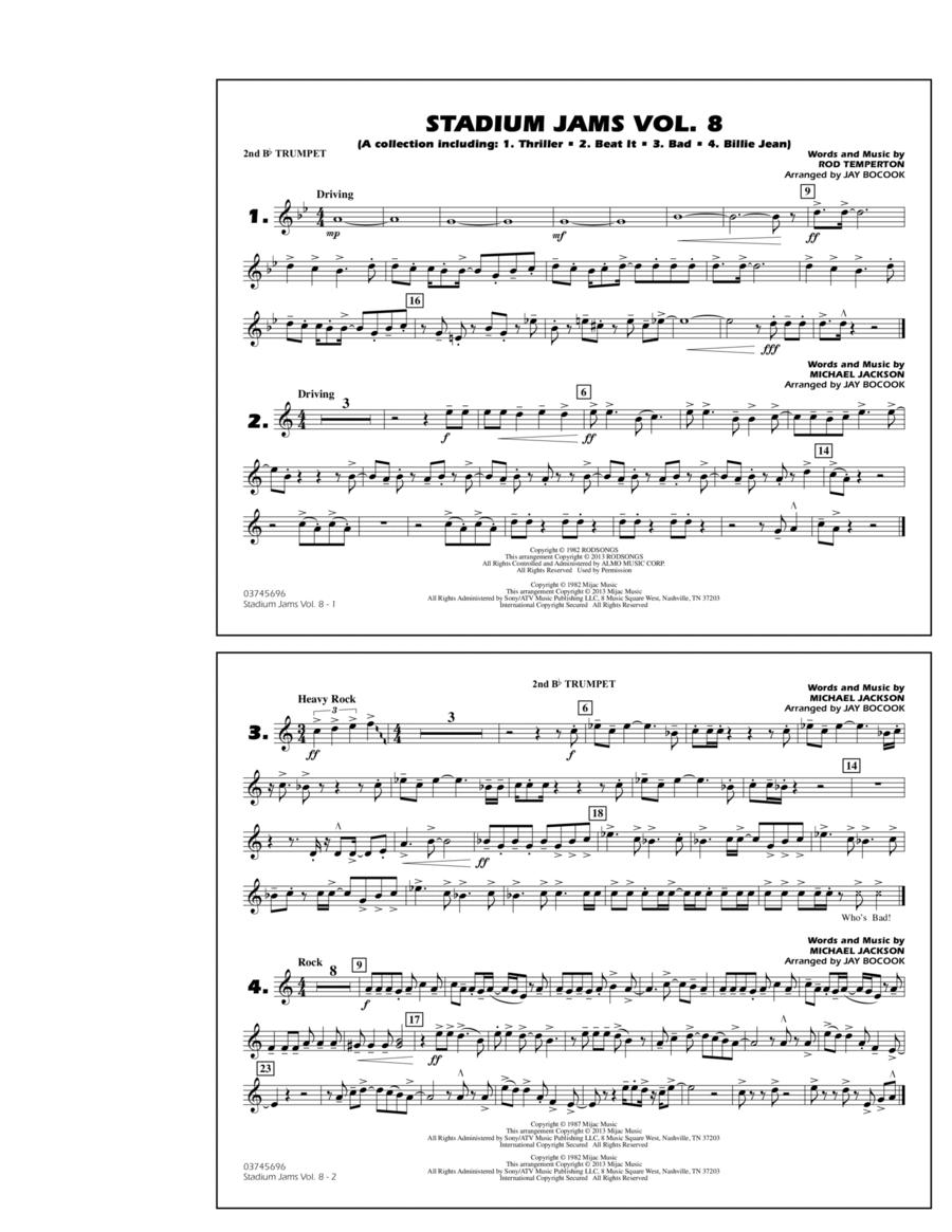 Stadium Jams Volume 8 (Michael Jackson) - 2nd Bb Trumpet