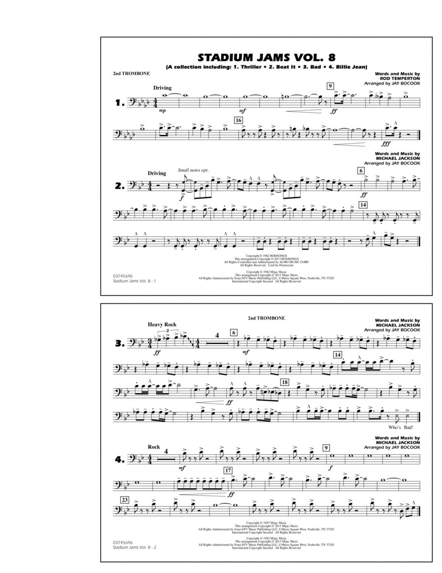 Stadium Jams Volume 8 (Michael Jackson) - 2nd Trombone