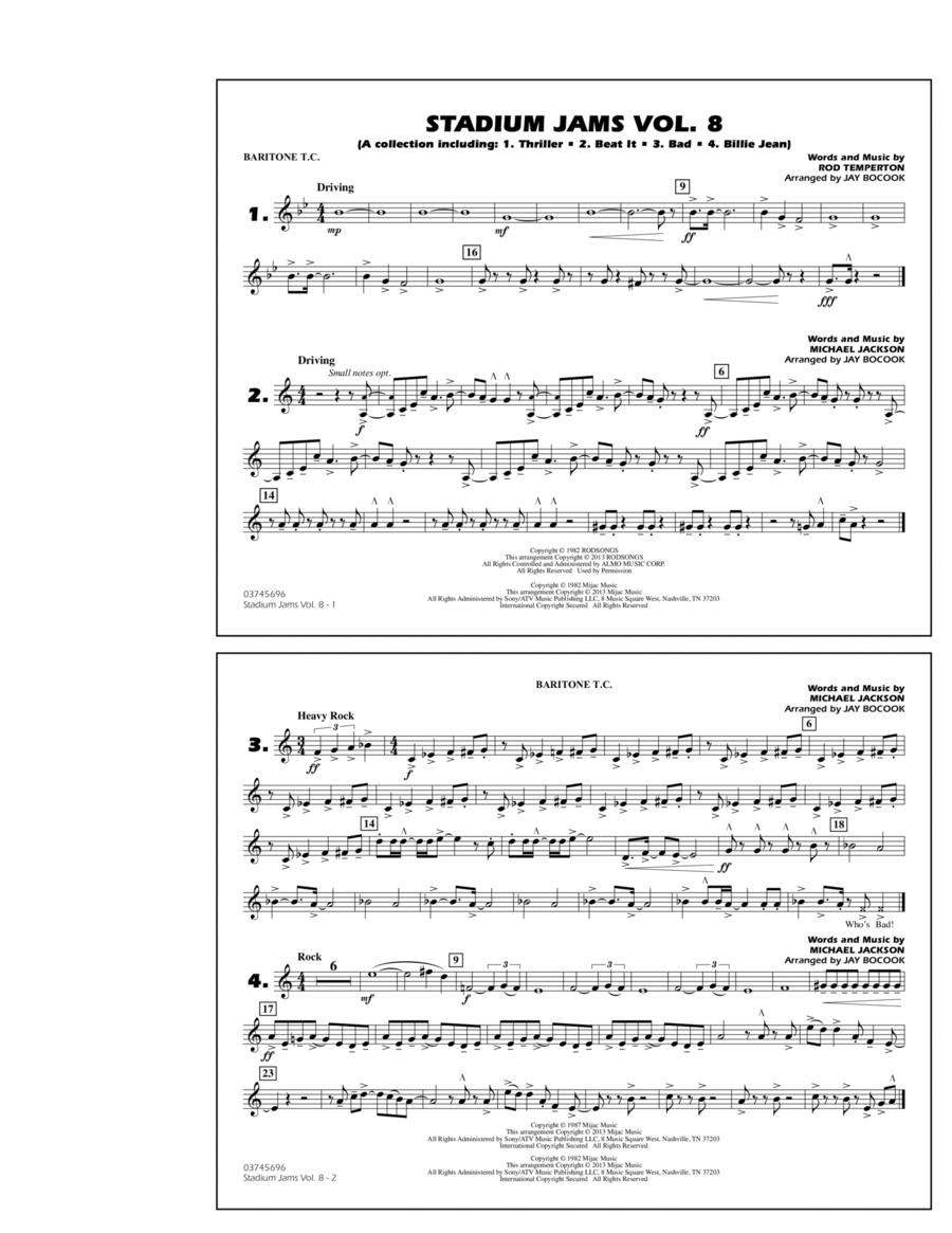 Stadium Jams Volume 8 (Michael Jackson) - Baritone T.C.