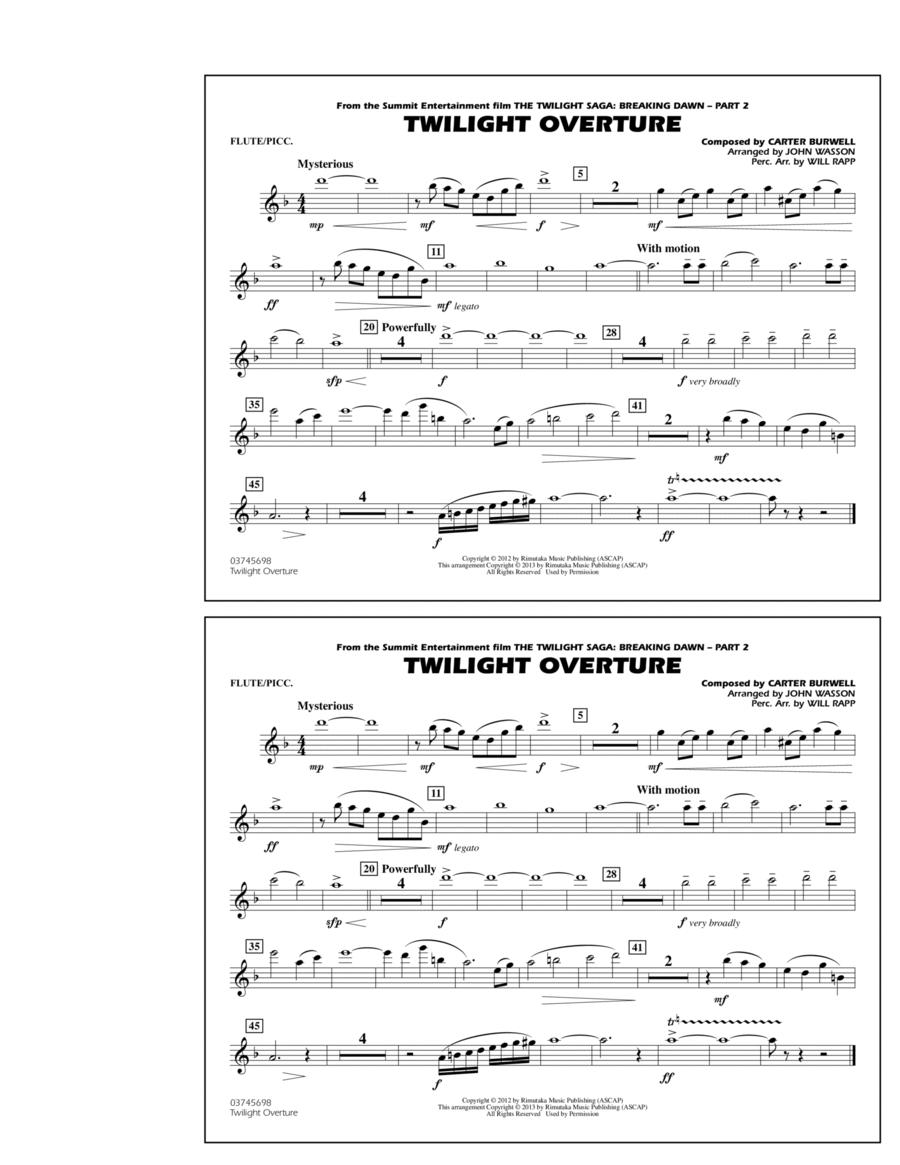 Twilight Overture - Flute/Piccolo