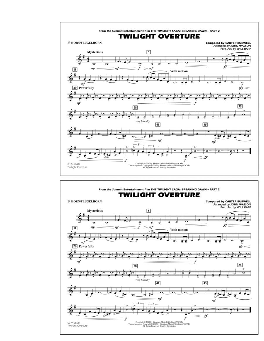 Twilight Overture - Bb Horn/Flugelhorn