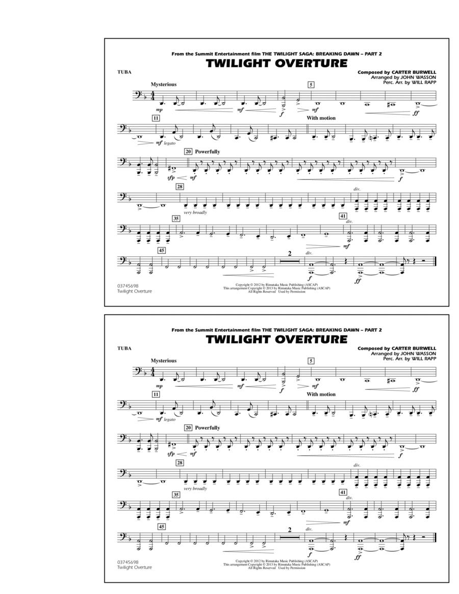 Twilight Overture - Tuba