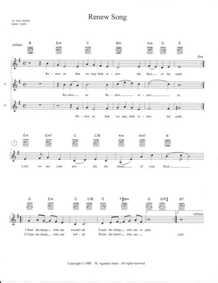 Renew Song
